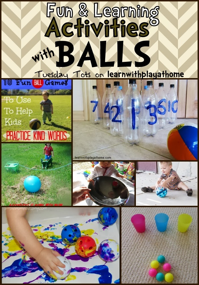 Learn With Play At Home Fun And Learning Activities Balls