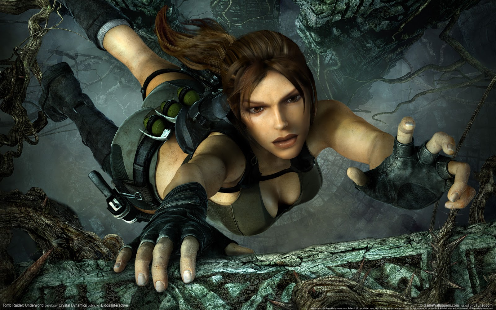 Dream Games: Tomb rider underworld