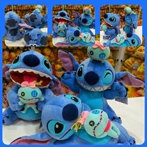 (INSTOCK) 2007 Disney Sega Stitch & Scrump Plush Set