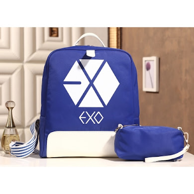 AAA K-POP EXO SERIES BACKPACK (BLUE)