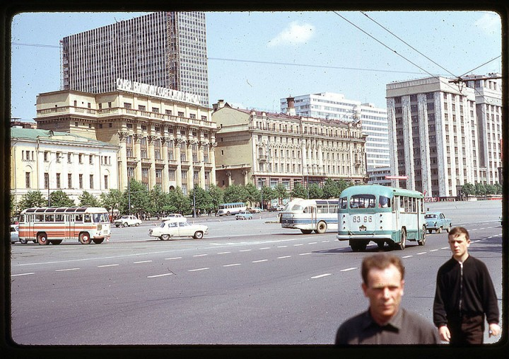 Pictures of Moscow 1969