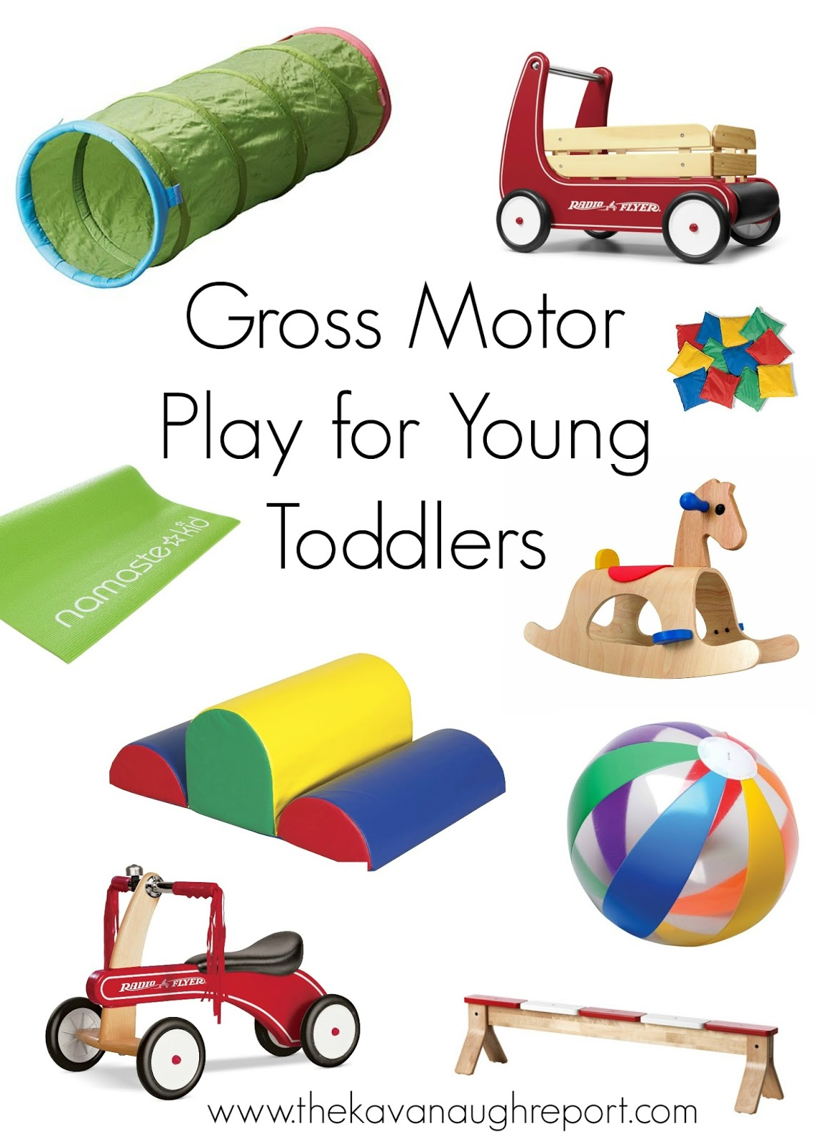 Gross Motor For Young Toddlers