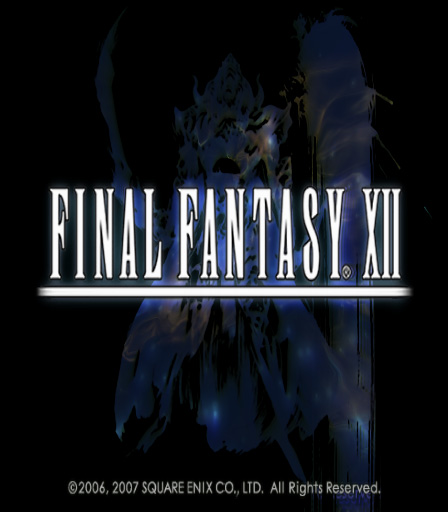 Final Fantasy XII PAL title screen