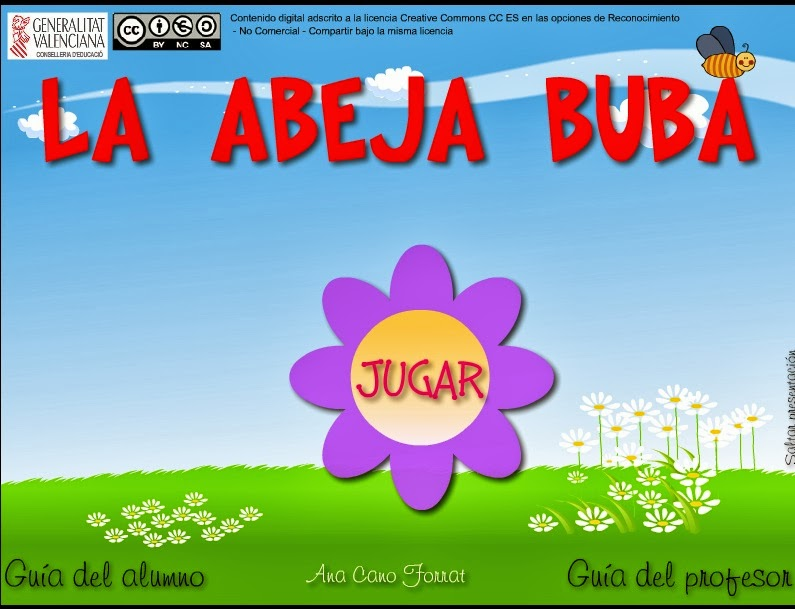 JUEGA CON LA ABEJA BUBA