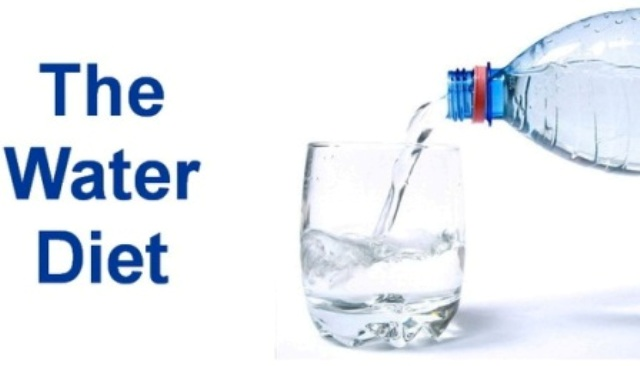 water helps reduce weight