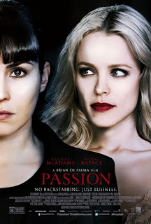 Passion Noomi Rapace Rachel McAdams Poster