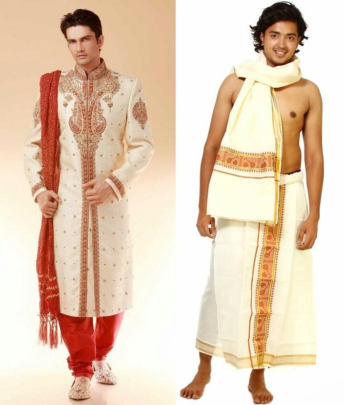 long drape with scarf groom
