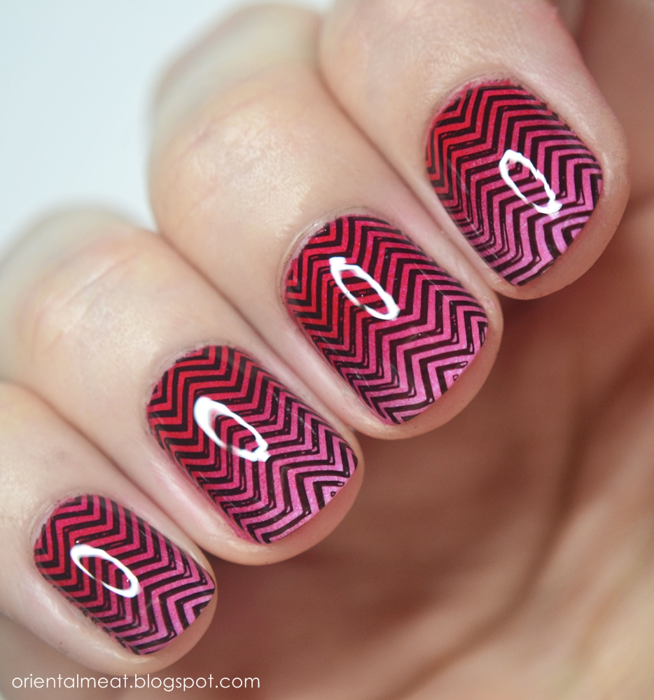 Chevron gradient