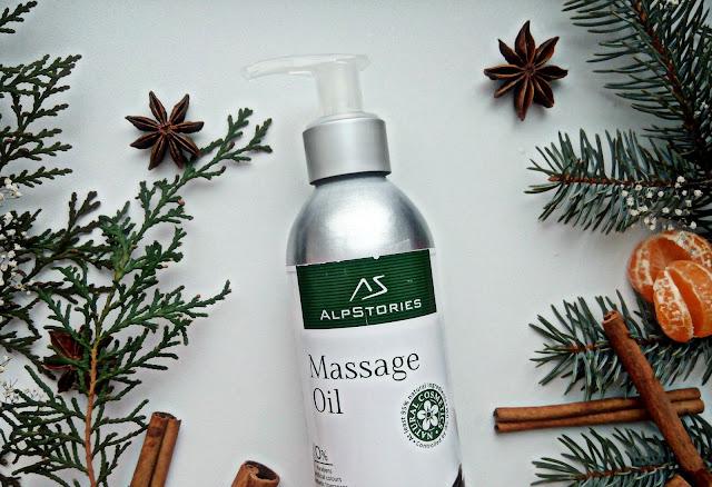 AlpStories Massage Oil Vanilla