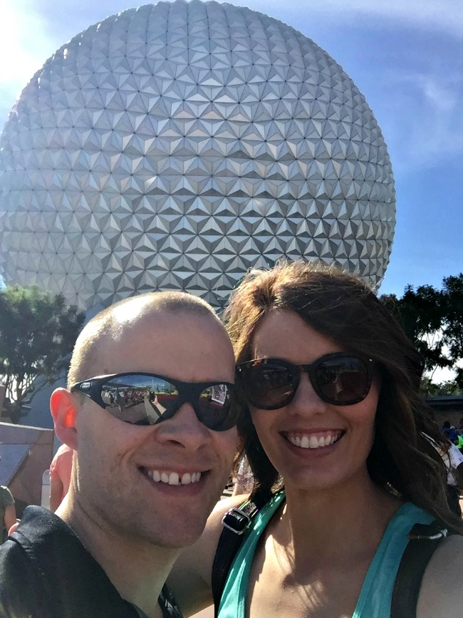 Disney World Recap - oh look, it's the giant golf ball.