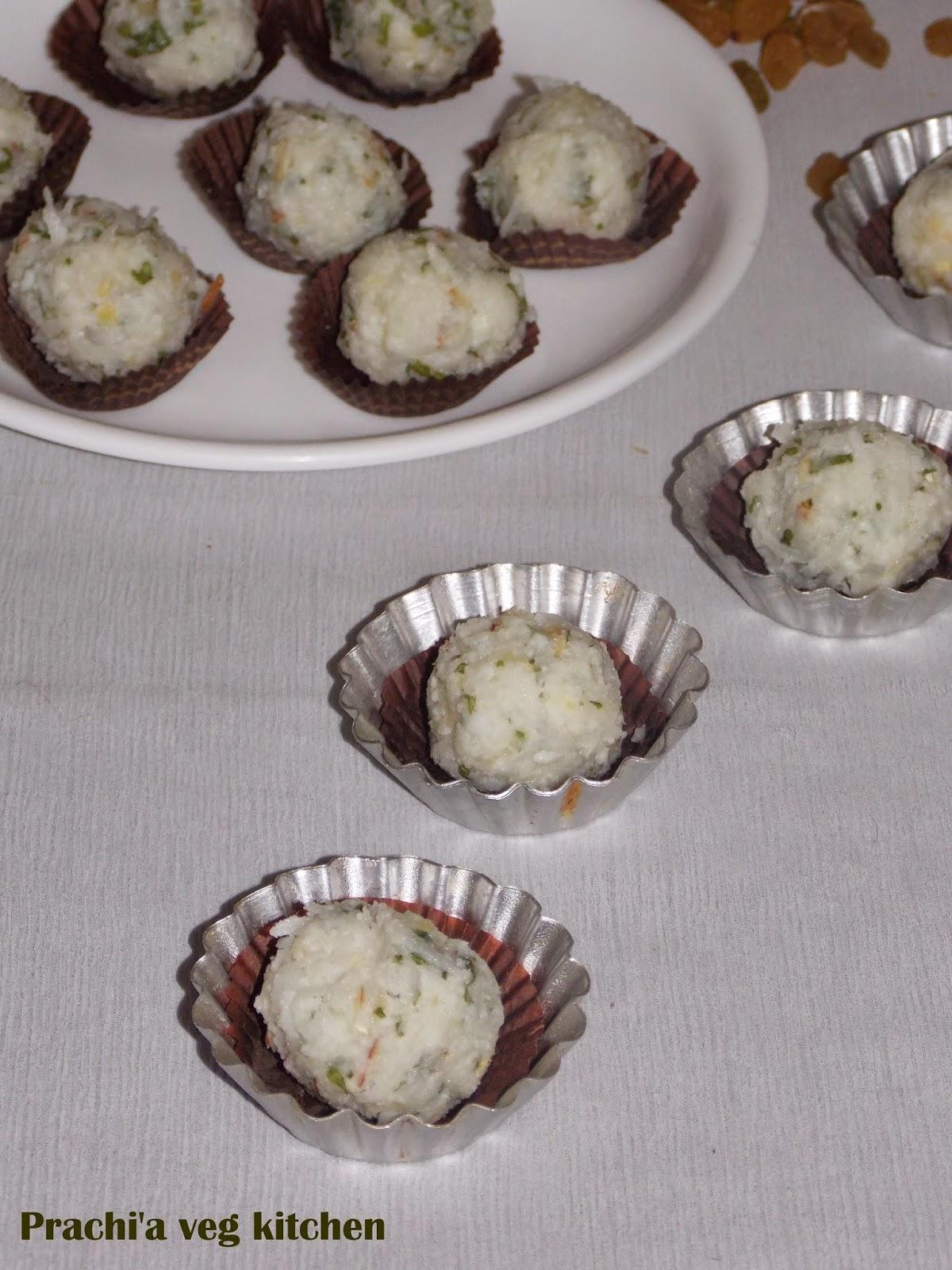 Prachi S Veg Kitchen Paan Petha Ladoo Instant Ladoo