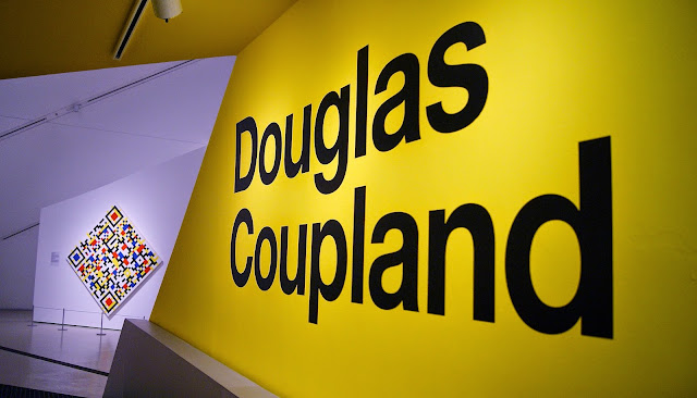 Douglas Coupland: everywhere is anywhere is everything is anything exhibition at Royal Ontario Museum in Toronto, culture, art, artmatters, the purple scarf, melanie.ps, ontario, canada, generation x, artist, installation, pop explosion, art