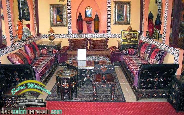 salon zellige beldi marocaine