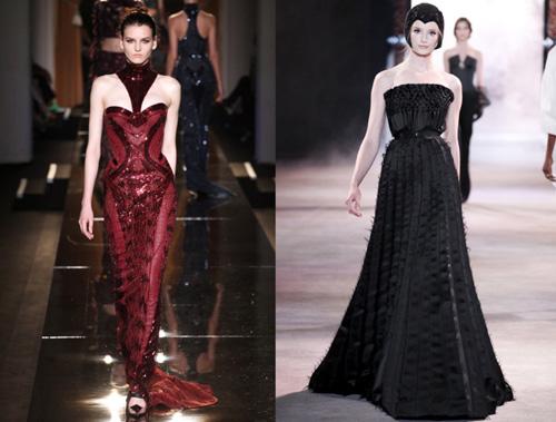 Atelier Versace and Ulyana Sergeenko