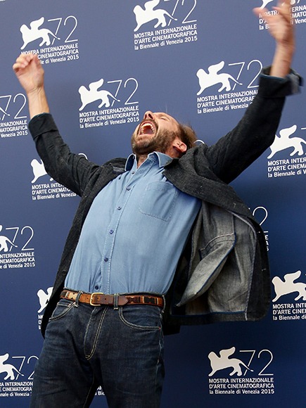 Gotta Cut Loose! Ralph Fiennes Shows Off His screaming Dance Moves at the urban center fete