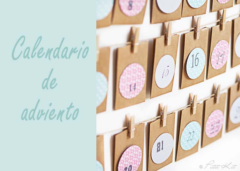 Imprimibles para fiestas aprender manualidades es for Calendario adviento ninos