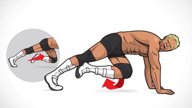 hip flexor weak spot gait