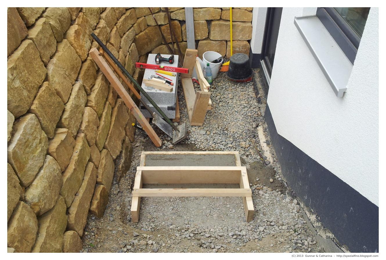 Gunnar catharina wir bauen unser fingerhaus for Keller bauen