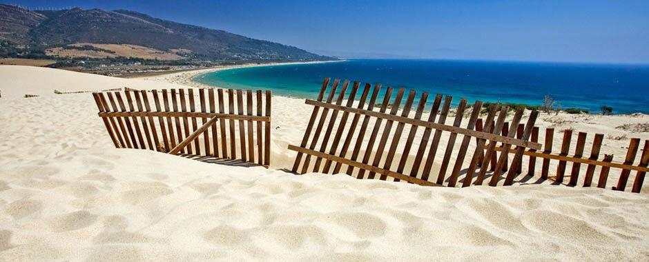 Increíbles playas en Tarifa, Cádiz
