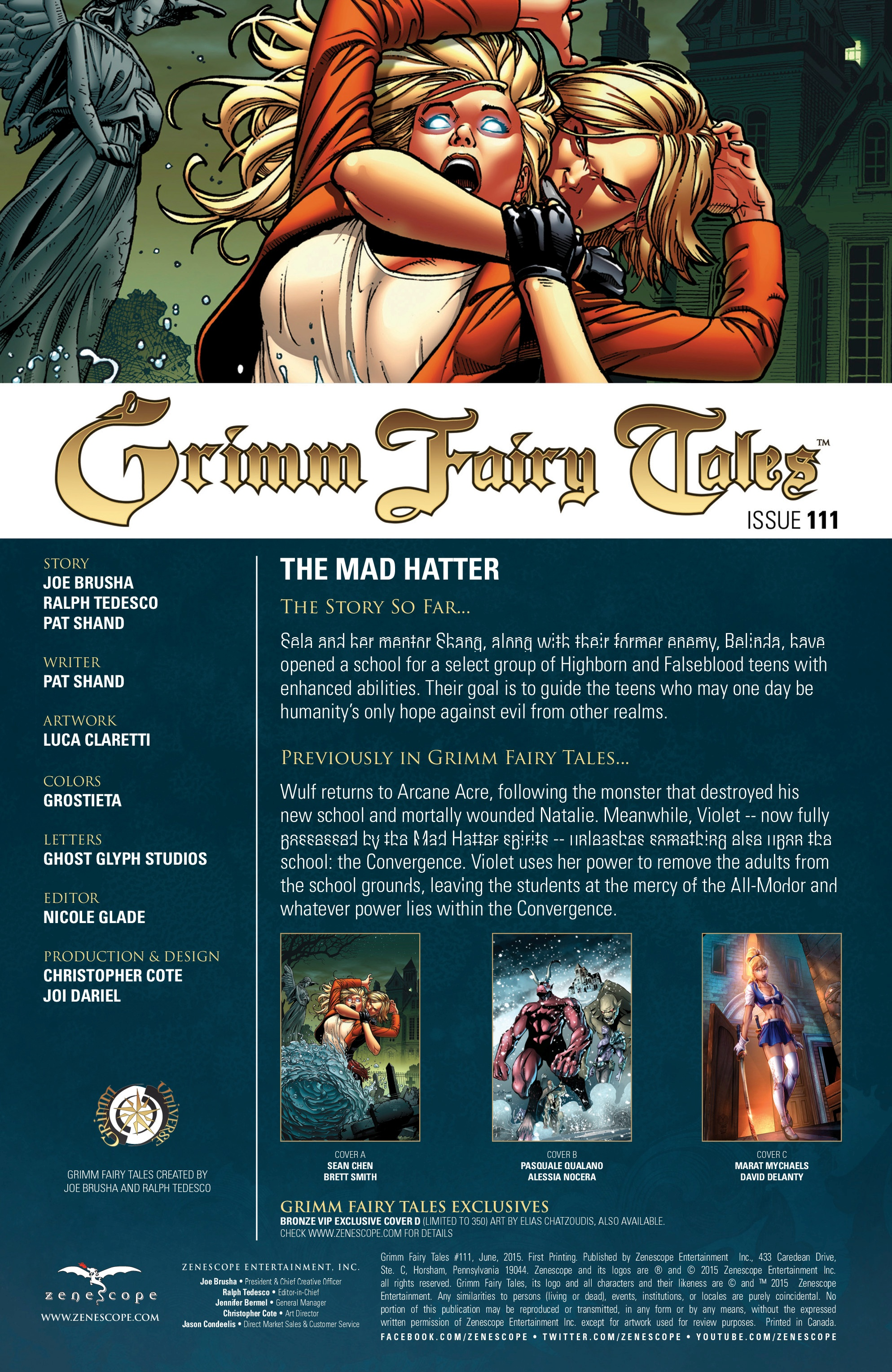 Grimm Fairy Tales (2005) Issue #111 #114 - English 2
