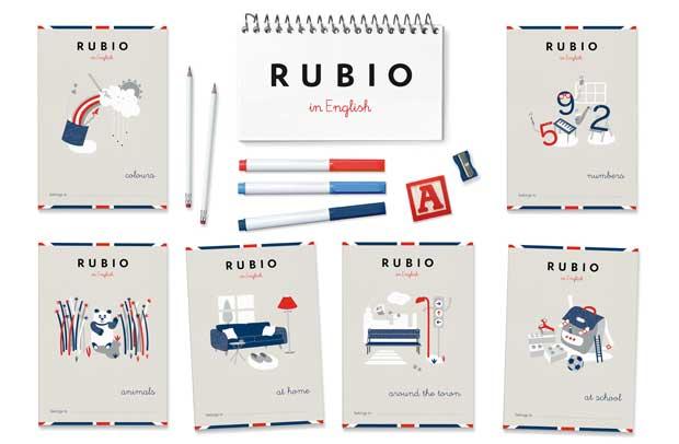 cuadernos rubio,culde sac,agencia,diseño,españa,libros de texto,educacion,educativo,ingles