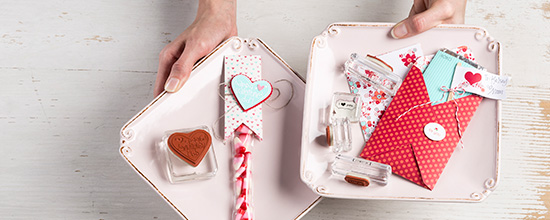 Stampin' Up! Valentine Project Ideas