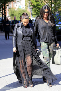 Kim Kardashian seen leaving Cipriani  May 5th, 2013.