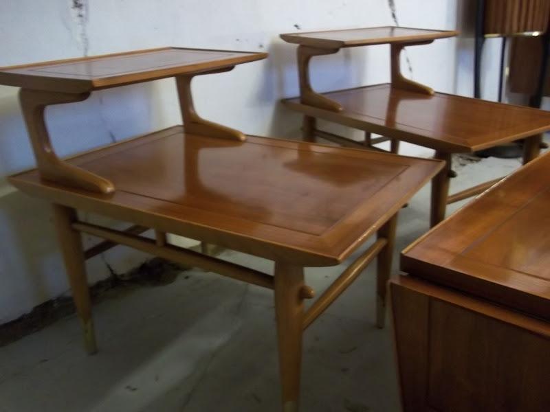 Lane Copenhagen Coffee End Table Set Circa 1957 Gatyo Retro