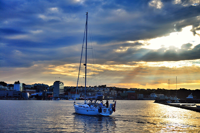 Stavanger Norway dreams KLM airlines godutch sailing fjord