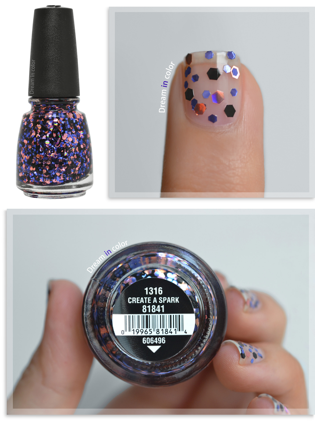 China Glaze Create a spark
