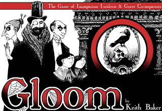 Gloom card game.