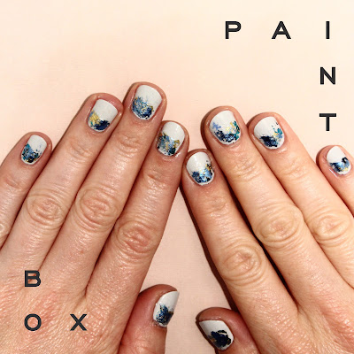 Paintbox, Paintbox Hot Shot manicure, nail art, nails, nail polish, nail lacquer, nail varnish, manicure, #ManiMonday, Mani Monday, RGB Cosmetics Dove