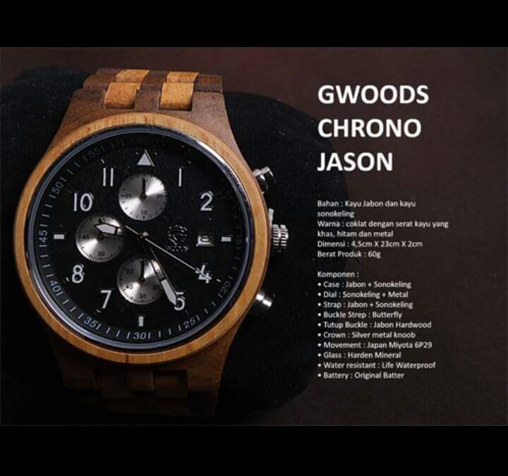 Gwoods Chrono Jason