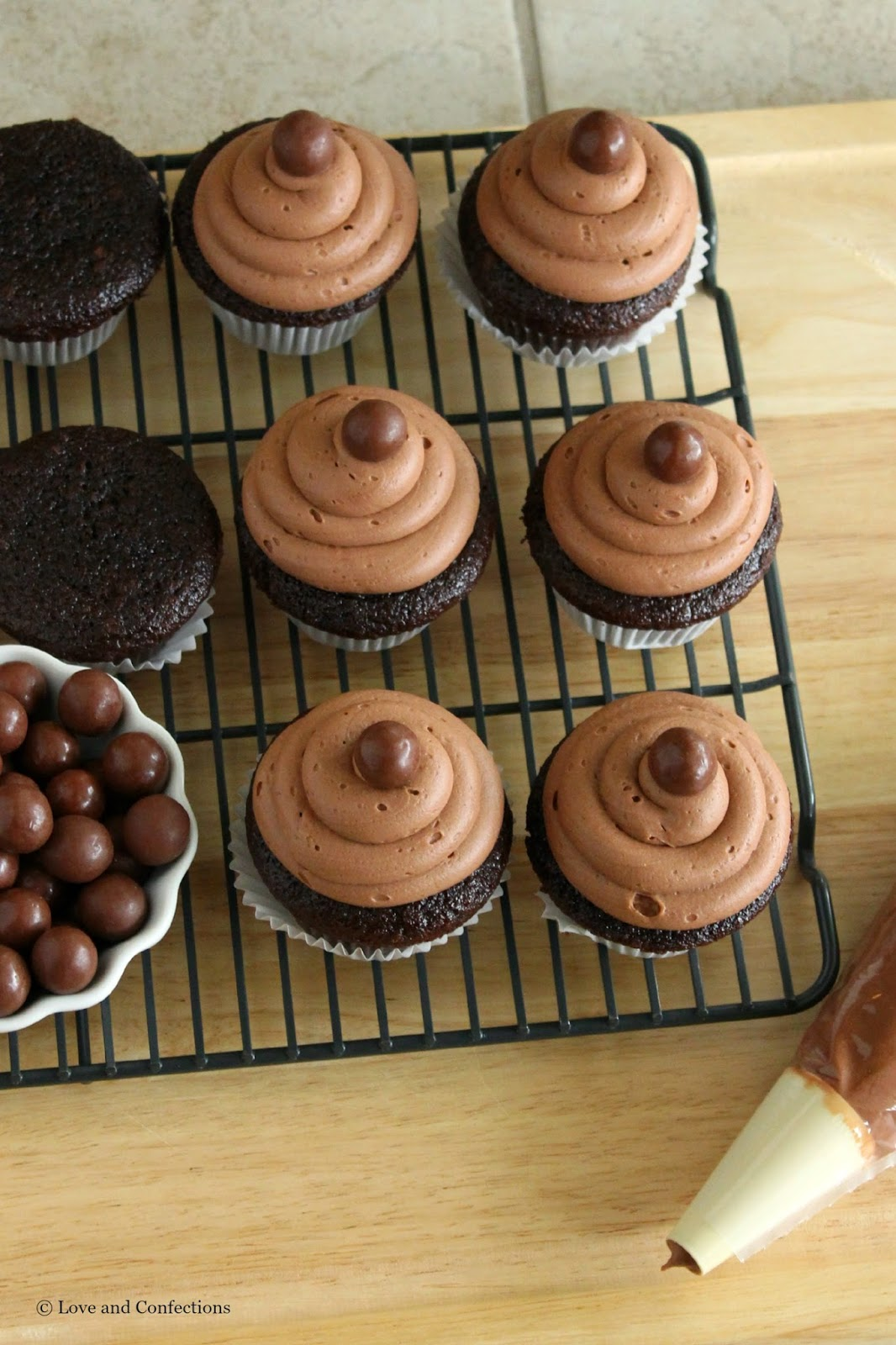 Malted Milk Ball Cupcakes for #BigHero6MovieNight @Target #ad