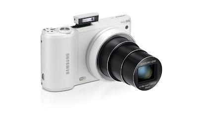 Fotografia della smart camera Samsung WB800F