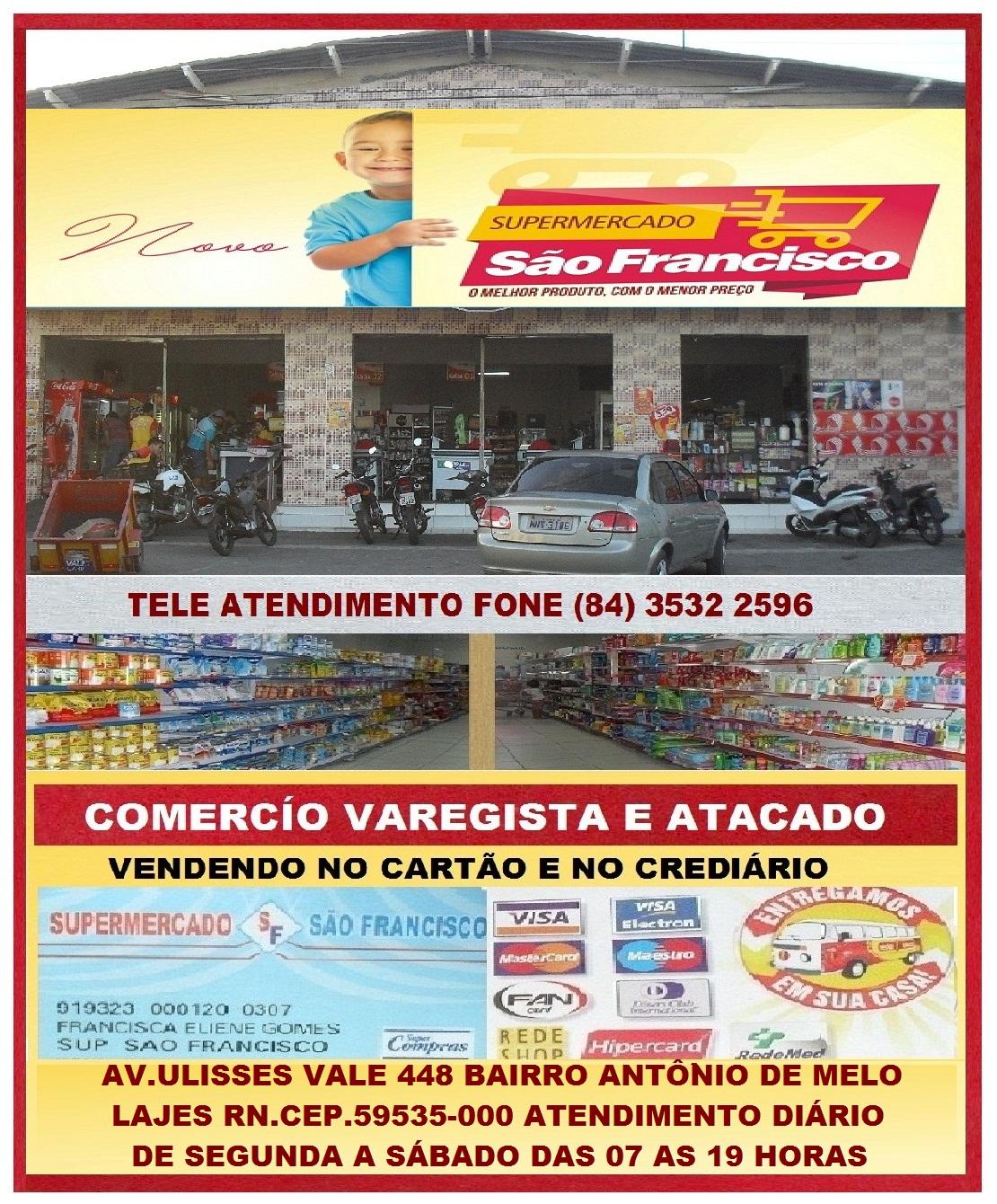 SUPERMERCADO SÃO FRANCISCO LAJES RN