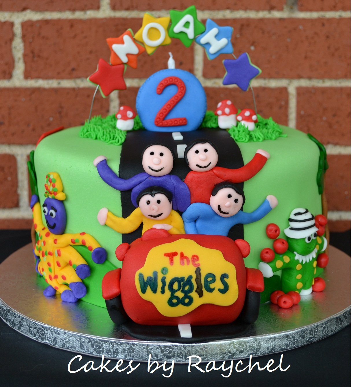 My Creative Way The Wiggles Cake Make Your Own Birthday Candle