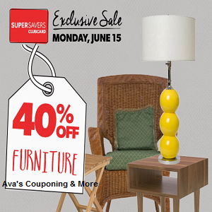 Ava 39 S Couponing More 40 Off Furniture At Value Village June 15