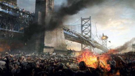Guerra Mundial Z: Arte conceptual