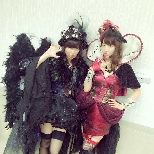 AKB48 Sashihara Rino & Kashiwagi Yuki Halloween Night 02