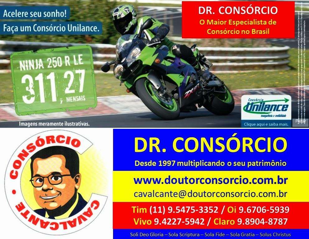 Moto é com o Dr. Consórcio.