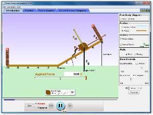 Simulasi Interaktif Fisika: Gaya Pada Bidang Miring
