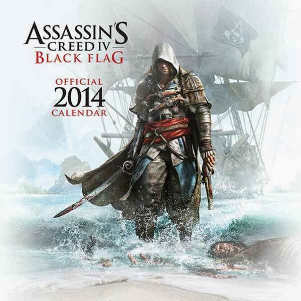 Calendario Assassins Creed 4 Black Flag