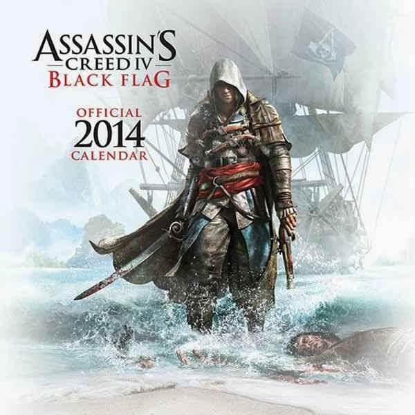 Calendario Assassins Creed 4 Black Flag