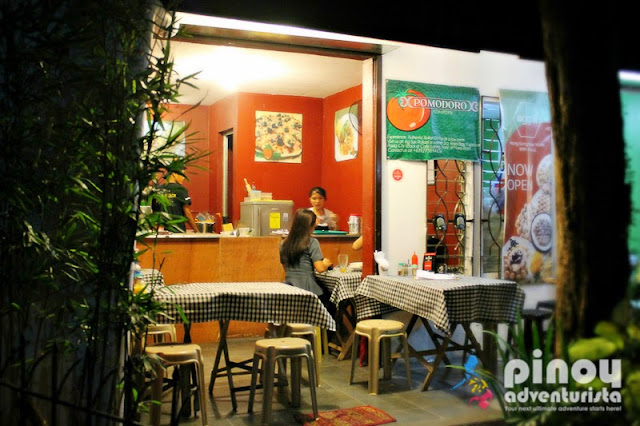 Where to Eat in Kapitolyo Pasig Pomodoro Pizza