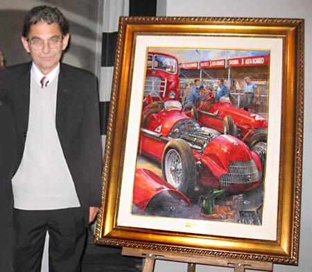 Juan Manuel Fangio-Alfa Romeo 158 Alfetta, 1950 Silverstone