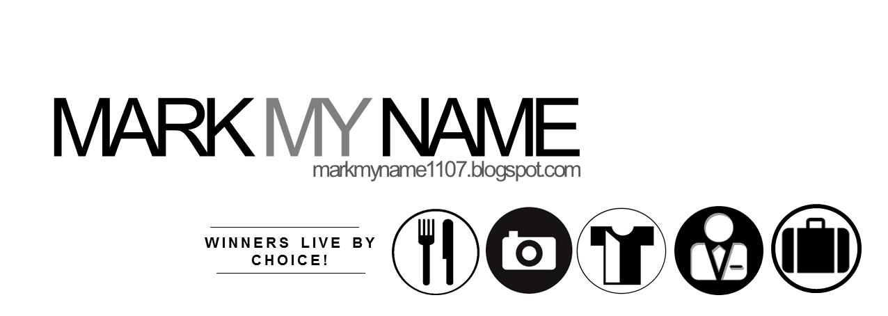 Mark My Name