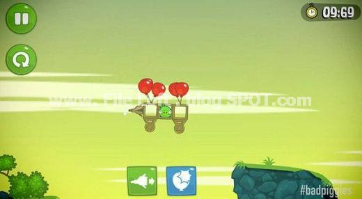 Screenshoots Bad Piggies v1.0.0 Fullversion: