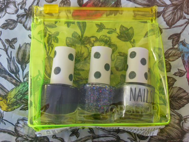 Topshop mini nail set