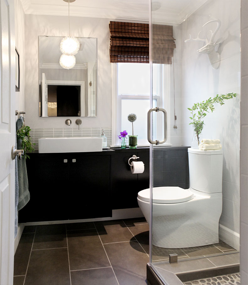 Small Powder Room Bathrooms